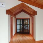 fine wood working in custom home by Copper Ridge Homes